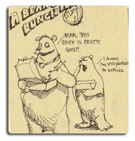 Bearskinrug